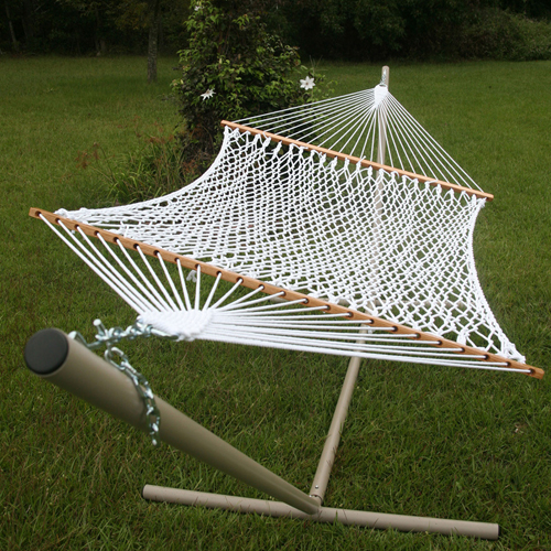 Pawleys Island 14OP The Original Deluxe Polyester Rope Hammock