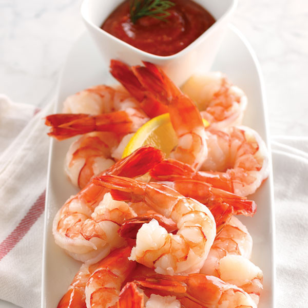 Lobster Gram CSH4 4 LBS OF COLOSSAL COOKED SHRIMP