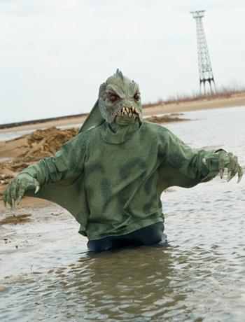 Zagone Studios C1013 Sea Creature Shirt Adult Costume