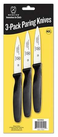 Mercer Tool M23903 3-Pack Paring Knives- Skin Packaging