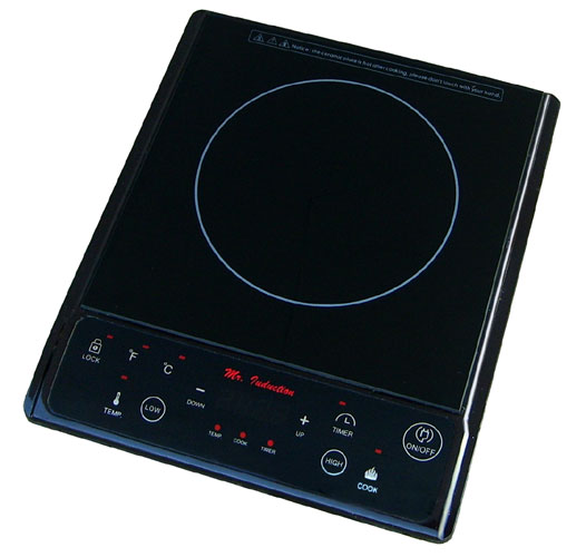 Sunpentown SR-964TB 1300W Induction in Black (Countertop)