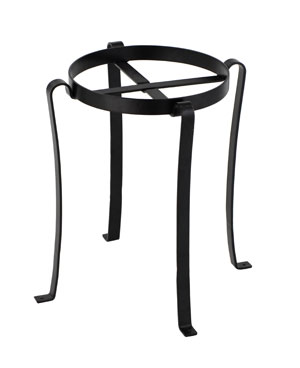 Achla FB-03 Patio Flowerpot Stand III - Powder Coated in Black