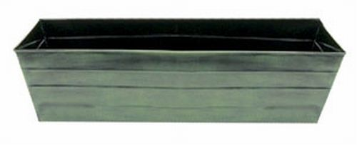 Achla VFB-06 Galvanized Tin Window Box - Powder Coated in Green Patina - Large
