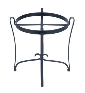 Achla FB-08 Wrought Iron Stand: Round (for C-50 & C-70)