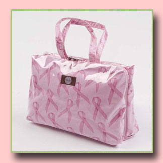 BabyDish Hally Breast Cancer Bag Dish-N-Dat Cosmetic Bag
