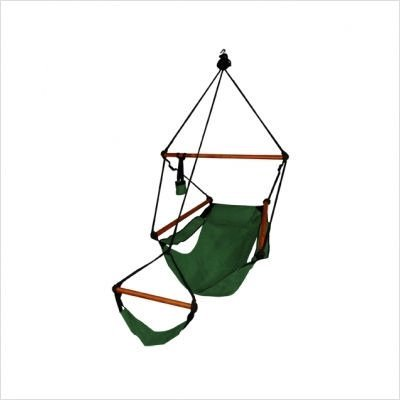 KingsPond  10002-KP Hammaka Hammocks Original Hanging Air Chair In Hunter Green