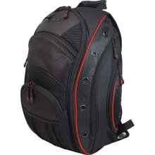 Mobile Edge MEEVO7 16 in. EVO Laptop Backpack-Black with Red Trim