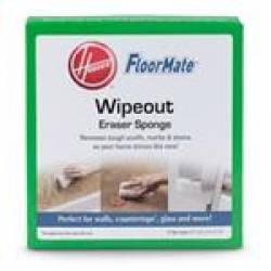 Hoover Ah30225 Floormate Wipeout Eraser Sponge- 2 Pk
