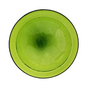 Achla CGB-05FG Crackle Bowl Bird Bath - Fern Green