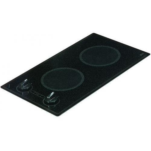 Kenyon B41515 Mediterranean Series 2-burner Trimline Cooktop- black with analog control- two 6 .50 inch 120V UL