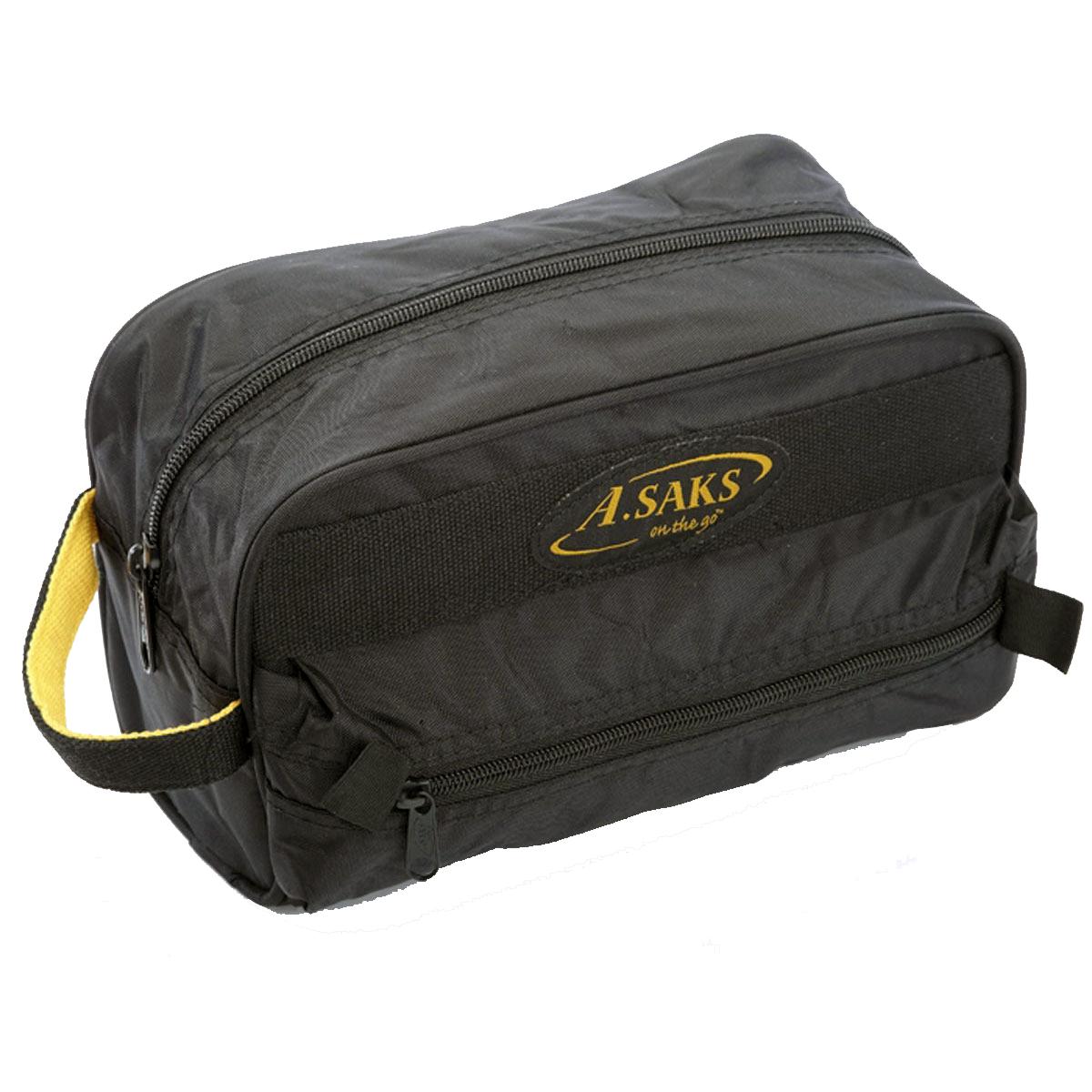"Asaks AE-11 11"" x 7"" x 4"" Deluxe Toiletry Kit"