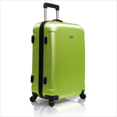 Travelers Choice TC2400B24 25 in. Freedom Lightweight Hard-shell Spinner Upright in Apple Green