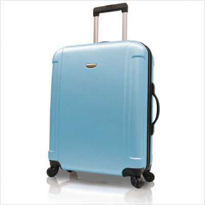 Travelers Choice TC2400B28 29 in. Freedom Lightweight Hard-shell Spinner Upright in Blue