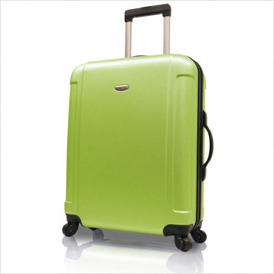 Travelers Choice TC2400E28 29 in. Freedom Lightweight Hard-shell Spinner Upright in Apple Green