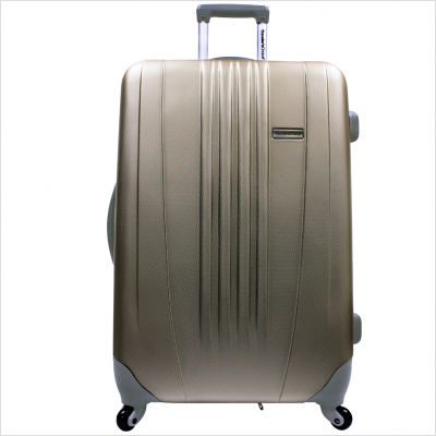Travelers Choice TC3300Y29 29 in. Toronto Expandable Hardside Spinner Luggage in Gold