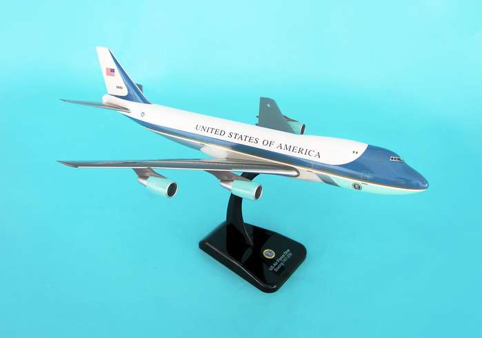 Hogan HG2049G US Air Force One B747-200 with Landing Gear
