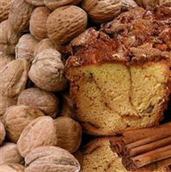 My Grandma NNLGC Large- 10 in.- 3.1 lbs Cinnamon Coffee Cake, No Nuts
