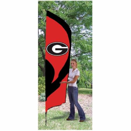 Party Animal 142148 Georgia Bulldogs Tall Nylon Team Flag