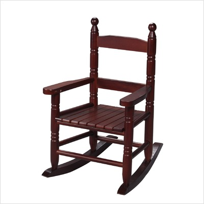 Giftmark 3200C Child's Double Slat Back Rocking Chair Cherry
