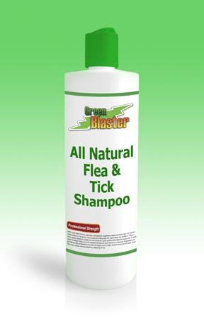 Green Blaster Products GBFT16 All Natural Flea & Tick Shampoo 16oz