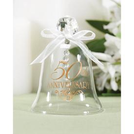 Hortense B. Hewitt 10800 50th Anniversary Glass Bell