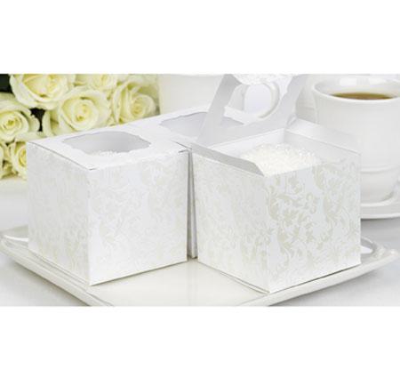 Hortense B. Hewitt 10840 Pearl Flourish Cupcake Boxes