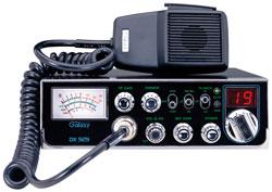 Galaxy DX-929 CB Mob 40ch AM Swr Dimmer Frnt Mic Jack