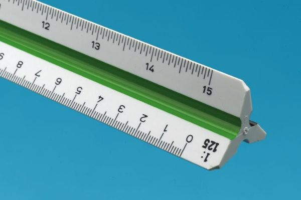 Alvin&Co 740PM Series Metric Plastic Triangular Architect Scale