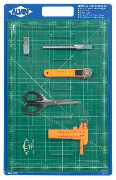 Alvin GMK818 Cutting Mat Hobby Kit 12x18