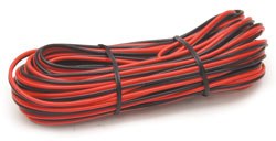 Roadpro RPCBH-25 20ga - 25  Red - Black Hookup Wire 12 Volt