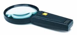 Roadpro RPLMG Magnifying Glass Illuminated 3.25 4x