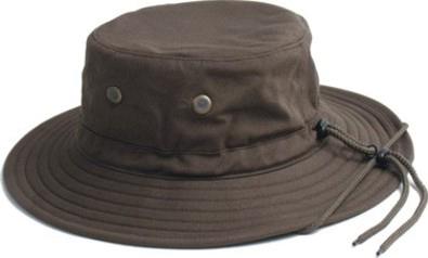 Men s Cotton Hat - Dark Brown Model 4471DB