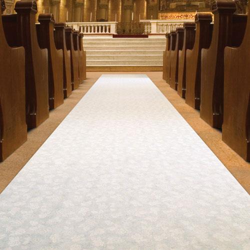 Beistle Company 36291 100  Elite Wedding Isle Runner - felt