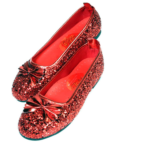 Rubies Costume Co 6267 Ruby Slippers Child Size X-Small