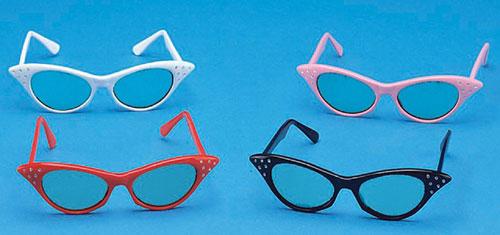Cruisin USA 27336 Catseye Glasses Black