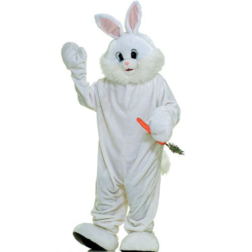 Forum Novelties Inc 33738 Bunny Plush Economy Mascot Adult Costume Size One-Size