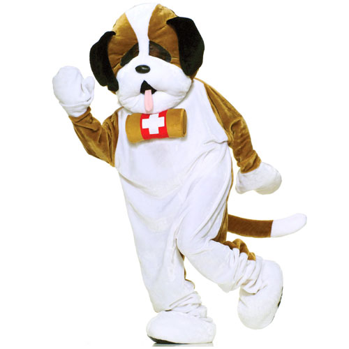 Forum Novelties Inc 33739 Puppy Dog Plush Economy Mascot Adult Costume Size One-Size