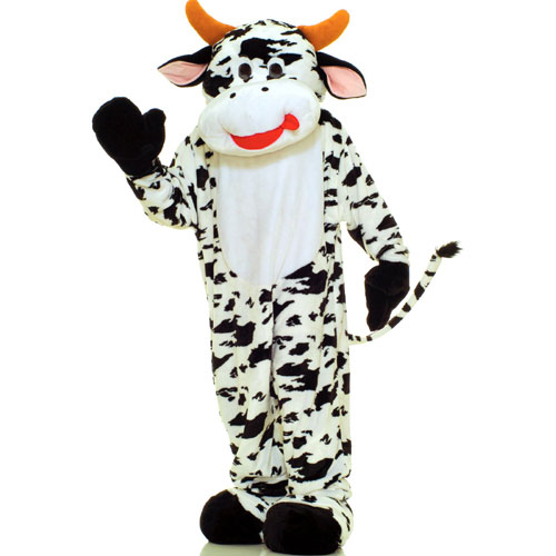 Forum Novelties Inc 33741 Cow Plush Economy Mascot Adult Costume Size One-Size