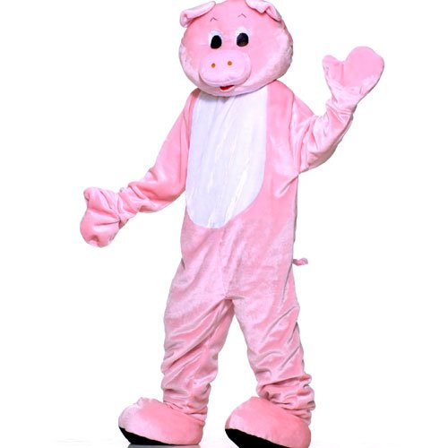 Forum Novelties Inc 33743 Pig Plush Economy Mascot Adult Costume Size One-Size