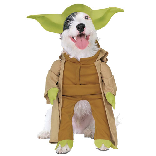 Rubies Costume Co 18842 Star Wars Yoda Pet Costume Size Small