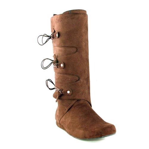 Ellie Shoes 33559 Thomas Brown Adult Boots Size Large 12-13