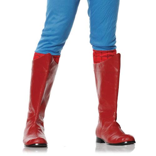 Ellie Shoes 33635 Shazam Red Adult Boots Size Medium 10-11
