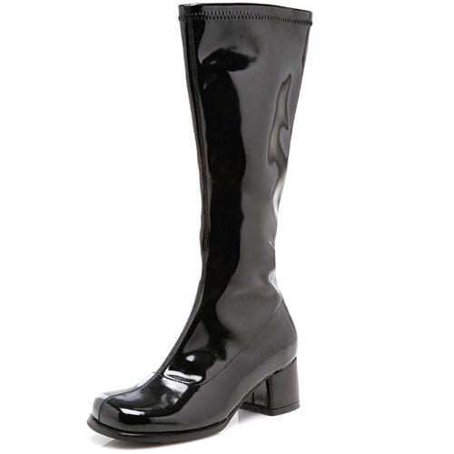 Ellie Shoes 33639 Dora Black Child Boots Size Large 2-3