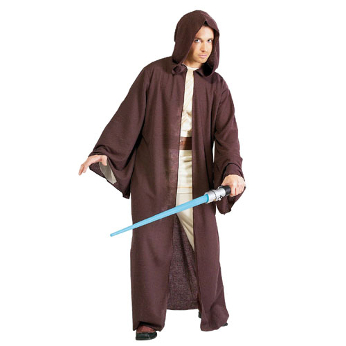 Rubies Costume Co 18808 Star Wars Deluxe Adult Jedi Robe Costume Size Standard One-Size