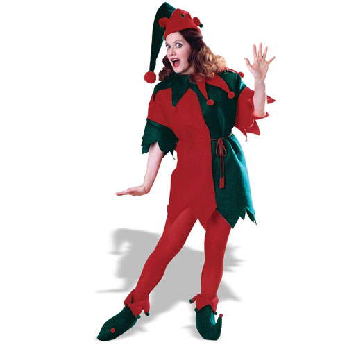 Rubies Costume Co 11073 Complete Elf Tunic Costume Size Standard