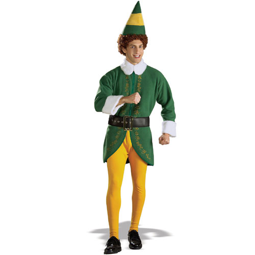 Rubies Costume Co 19992 Buddy Elf Adult Costume Size Standard