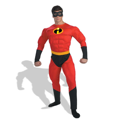 Disguise Inc 12914 Mr. Incredible Muscle Adult Costume Size XL 42-46