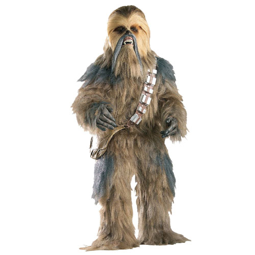 Rubies Costume Co 18760 Star Wars Chewbacca Collector's Edition Adult Costume Size X-Large- Men Chest Size 46-4