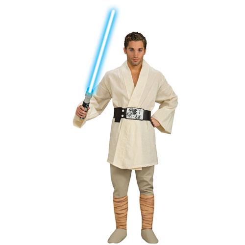 Rubies Costume Co 33121 Star Wars Deluxe Luke Skywalker Adult Costume Size Standard One-Size- Men Size 46   Chest-6