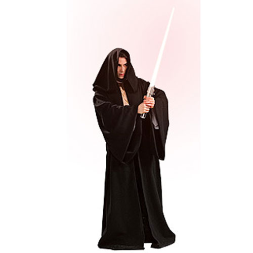 Rubies Costume Co 33130 Star Wars Deluxe Sith Robe Adult Costume Size Standard One-Size- Men Size 46   Chest-6